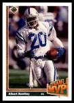 1991 Upper Deck #461   -  Albert Bentley Team MVP Front Thumbnail