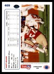 1991 Upper Deck #409  Matt Millen  Back Thumbnail