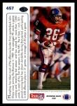 1991 Upper Deck #457   -  Bobby Humphrey Team MVP Back Thumbnail