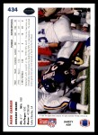 1991 Upper Deck #434  Mark Carrier  Back Thumbnail