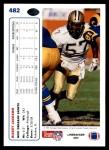 1991 Upper Deck #482  Rickey Jackson  Back Thumbnail