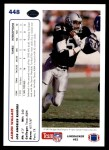 1991 Upper Deck #448  Aaron Wallace  Back Thumbnail