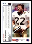 1991 Upper Deck #671  Gill Fenerty  Back Thumbnail