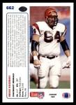 1991 Upper Deck #662  Bruce Kozerski  Back Thumbnail