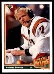 1991 Upper Deck #454   -  Boomer Esiason Team MVP Front Thumbnail