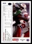 1991 Upper Deck #410  Ronnie Lippett  Back Thumbnail