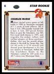 1991 Upper Deck #6  Charles McRae  Back Thumbnail