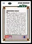 1991 Upper Deck #11  Browning Nagle  Back Thumbnail