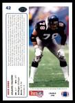 1991 Upper Deck #42  Mike Kenn  Back Thumbnail