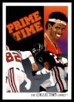 1991 Upper Deck #85   -  Deion Sanders Atlanta Falcons Team Front Thumbnail