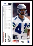 1991 Upper Deck #120  Eugene Robinson  Back Thumbnail