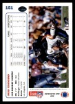 1991 Upper Deck #151  Greg Townsend  Back Thumbnail