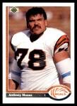 1991 Upper Deck #209  Anthony Munoz  Front Thumbnail