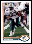 1991 Upper Deck #253  Sammie Smith  Front Thumbnail