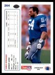 1991 Upper Deck #264  Chris Spielman  Back Thumbnail