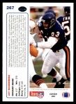 1991 Upper Deck #267  Jay Hilgenberg  Back Thumbnail