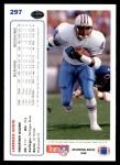 1991 Upper Deck #297  Lorenzo White  Back Thumbnail