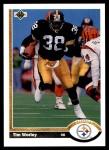 1991 Upper Deck #307  Tim Worley  Front Thumbnail