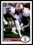 1991 Upper Deck #314  Sean Jones  Front Thumbnail
