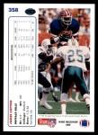 1991 Upper Deck #358  James Lofton  Back Thumbnail