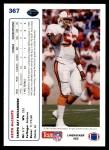 1991 Upper Deck #367  Keith McCants  Back Thumbnail