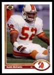 1991 Upper Deck #367  Keith McCants  Front Thumbnail