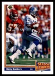 1991 Upper Deck #401  Barry Sanders  Front Thumbnail