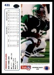 1991 Upper Deck #431  Freeman McNeil  Back Thumbnail