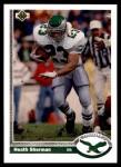 1991 Upper Deck #437  Heath Sherman  Front Thumbnail