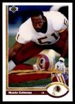 1991 Upper Deck #440  Monte Coleman  Front Thumbnail