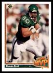1991 Upper Deck #470   -  Dennis Byrd Team MVP Front Thumbnail