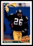 1991 Upper Deck #473  Rod Woodson  Front Thumbnail