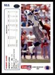 1991 Upper Deck #511  Robert Clark  Back Thumbnail