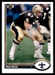 1991 Upper Deck #532  Stan Brock  Front Thumbnail