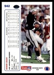 1991 Upper Deck #542  Roger Craig  Back Thumbnail