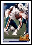 1991 Upper Deck #607  Bryan Cox  Front Thumbnail