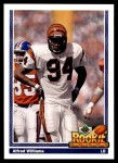 1991 Upper Deck #623  Alfred Williams  Front Thumbnail