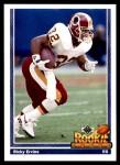 1991 Upper Deck #640  Ricky Ervins  Front Thumbnail