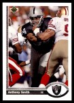 1991 Upper Deck #673  Anthony Smith  Front Thumbnail