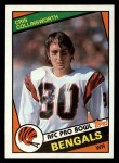 1984 Topps #37  Cris Collinsworth  Front Thumbnail