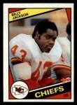 1984 Topps #91  Billy Jackson  Front Thumbnail