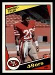 1984 Topps #361  Wendell Tyler  Front Thumbnail