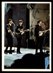 1964 Topps Beatles Color #37   John, Paul and George perfoming Front Thumbnail