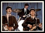1964 Topps Beatles Color #27   Ringo, Paul and George performing Front Thumbnail