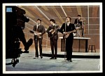 1964 Topps Beatles Color #61   Beatles performing Front Thumbnail