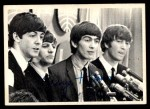 1964 Topps Beatles Black and White #66  George Harrison  Front Thumbnail