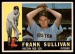 1960 Topps #280  Frank Sullivan  Front Thumbnail