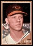 1962 Topps #449  Jerry Adair  Front Thumbnail