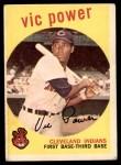 1959 Topps #229  Vic Power  Front Thumbnail