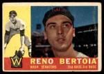 1960 Topps #297  Reno Bertoia  Front Thumbnail
